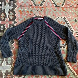 T Alexander Wang wool cable knit sweater